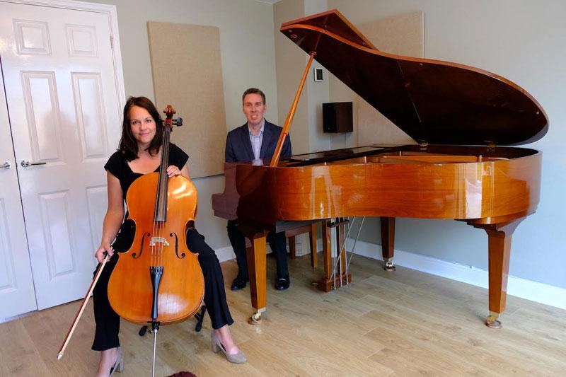 Cello & Piano for Weddings - Cello & Piano Duo