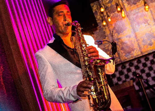 The Bollywood Saxophone Player - Flute and Saxophone Player