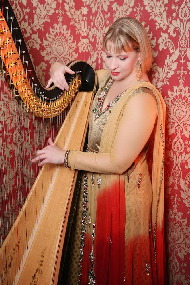 The Lancashire Bollywood Harpist - Bollywood Harp Player
