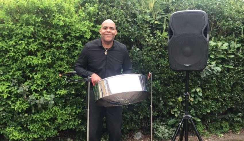 The London Solo Steel Pan Player - Steel Pan Player