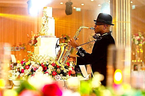 The Asian Wedding Saxophone Player - Bollywood Sax Player