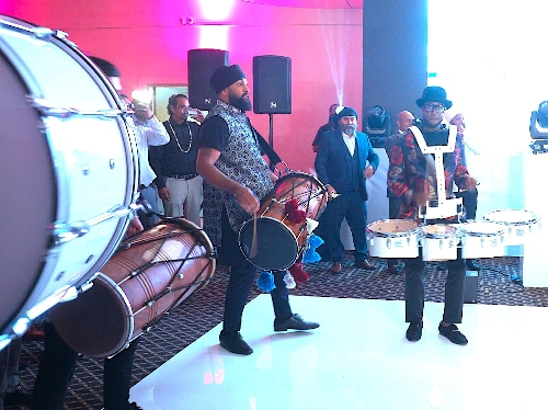 The Asian Wedding Fusion Drummers - Bollywood Fusion Drumming Group