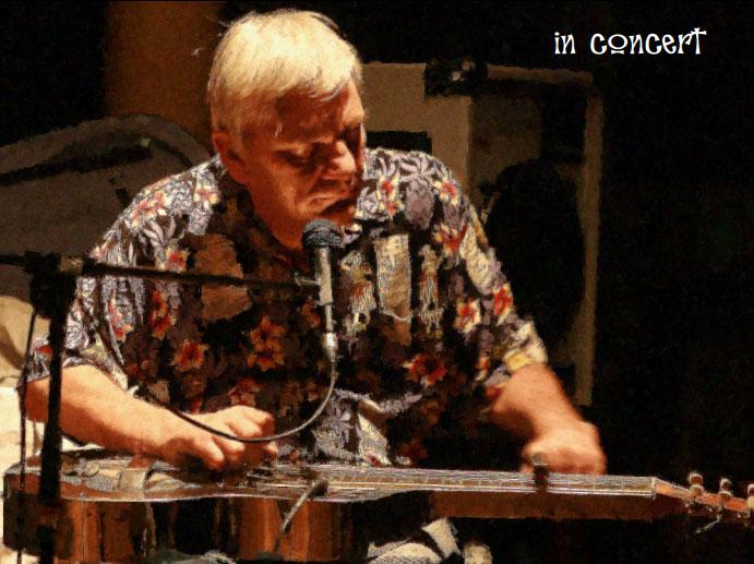 Tim Bower - Lap Blues Guitarist