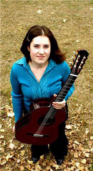Rebecca White - Classical Guitarist
