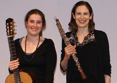 The Oberon Duo - Classical Guitar & Oboe Duo