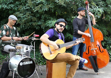 The Manchester Latin Band - Latin Band (solo, duo or trio)