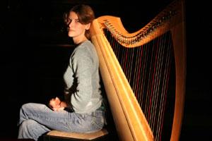 Sarah North - Celtic Harpist