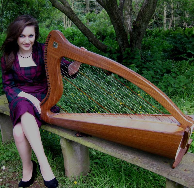 The Scotland Wedding Harpist - Harpist
