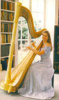 Faye Holder - Harpist