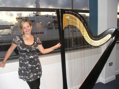 Bianca Cross - Harpist