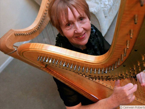 Catrin Rhys - Harpist