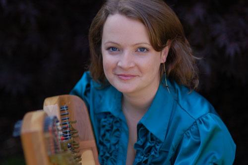Justine Morgan - Harpist