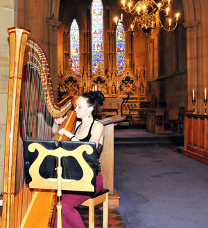 Lea Black - Harpist