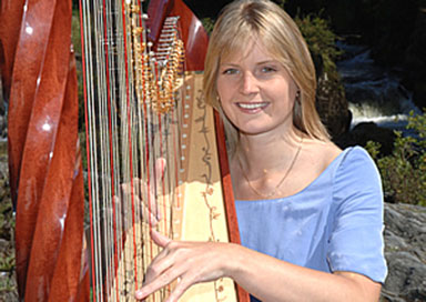The Welsh Harpist - Harpist
