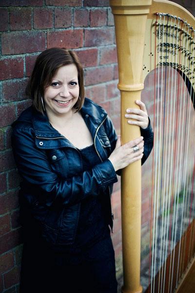 Sandra Griffin - Harpist