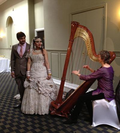 Mary Chester - Bollywood Harpist