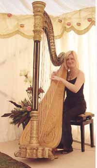 Anne Applin - Harpist
