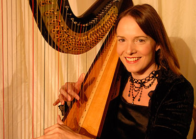 Virginia Longford - Harpist