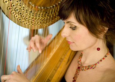 The Surrey Harpist - Harpist