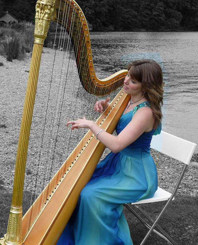 The Lake District Harpist - Harpist