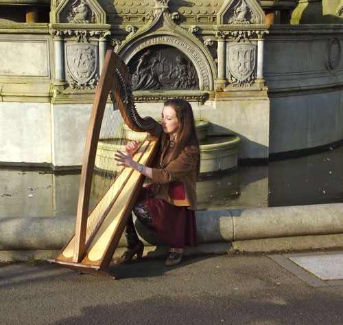Jenny Bridge - Scottish Harpist