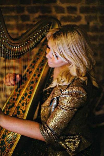 Jennie Sutcliffe - Harpist