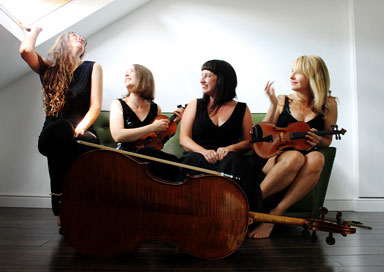 Glimmer Strings - String Quartet & Trio
