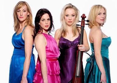 Galaxy Electric String Quartet picture