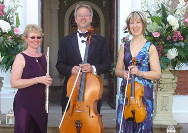 The Lake District Wedding Trio - String Trio with Flute