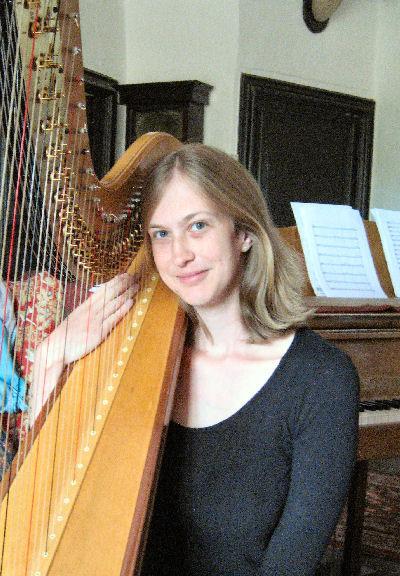 Hannah Howes - Harpist