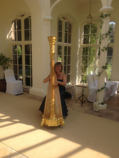 Sarah Sharp - Harpist