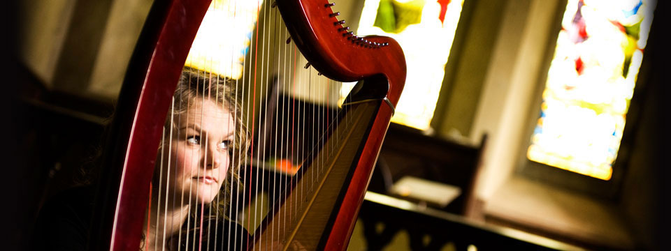 celtic harpist singer for wedding