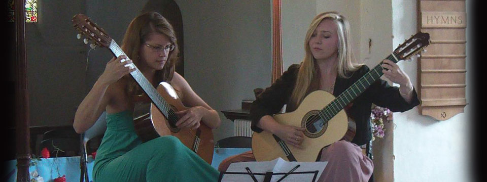classical guitar duo for hire