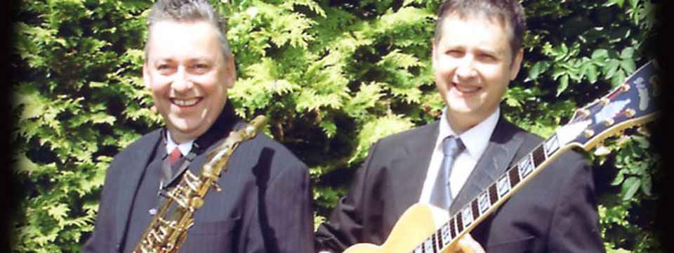 guitar and sax duo