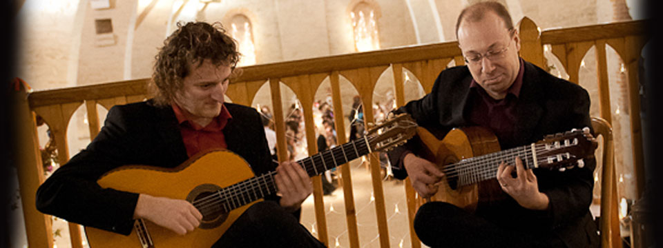 hire a latin guitar duo