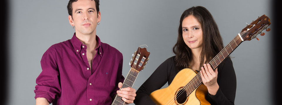 spanish guitar duo hire