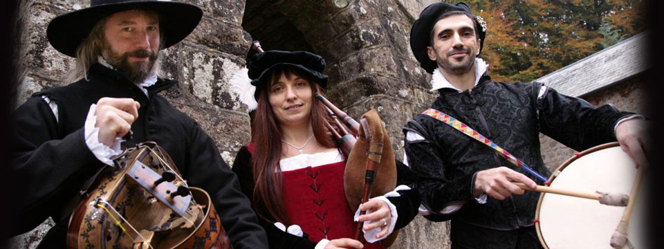 medieval minstrels for party