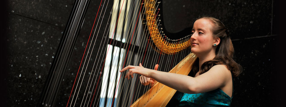 pop harpist who sings