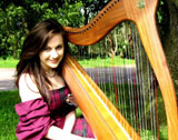 The Scotland Wedding Harpist picture